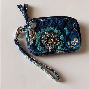 Vera Bradley Women's Wristlet Mod Blue Floral